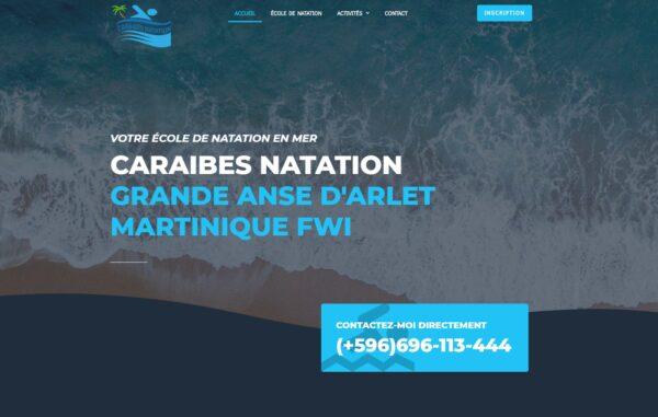 Image du site Caraïbes Natation