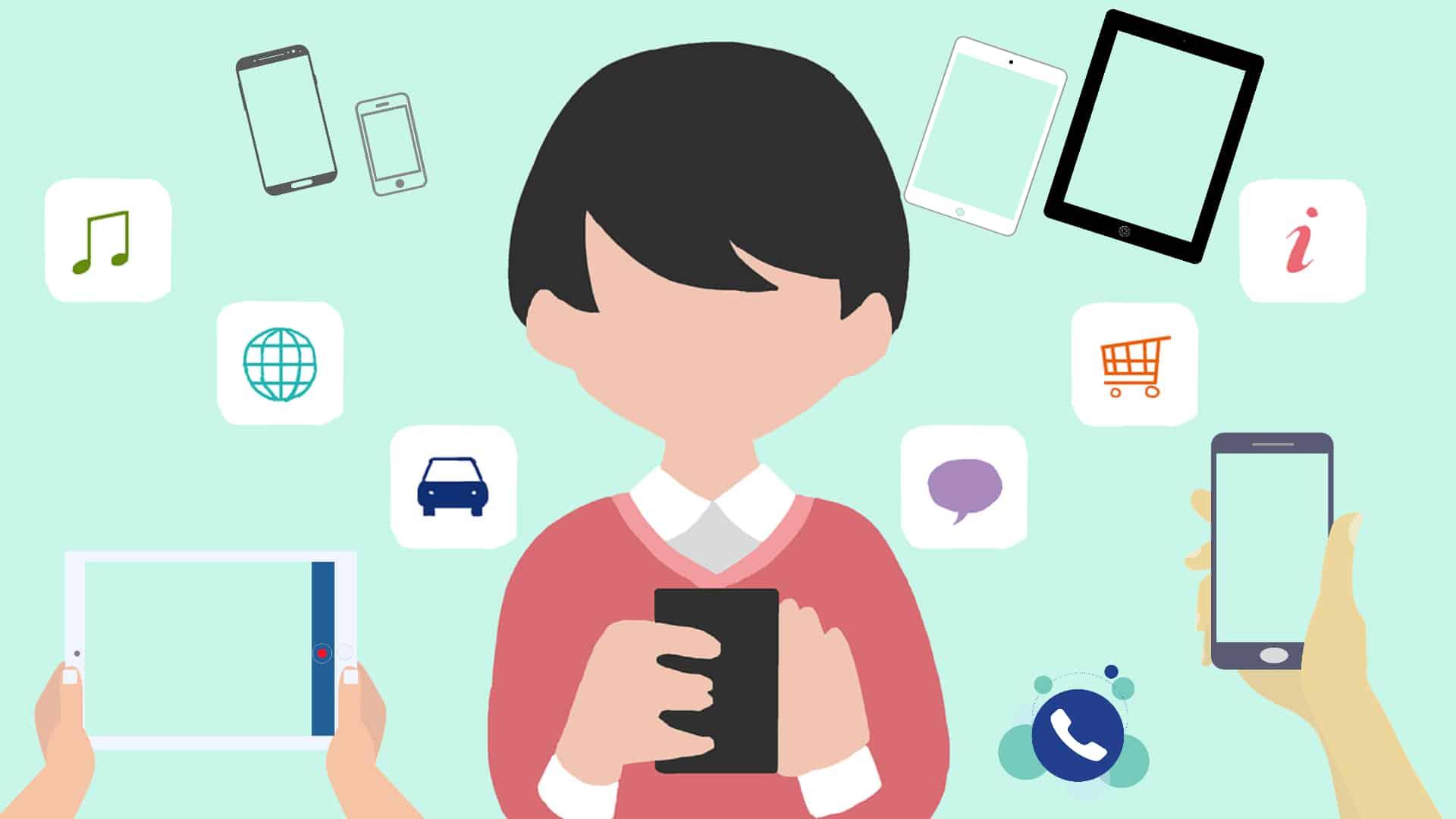 Formation pour utilisation des mobiles et tablettes