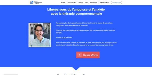 Site Therapie comportementale - Couverture