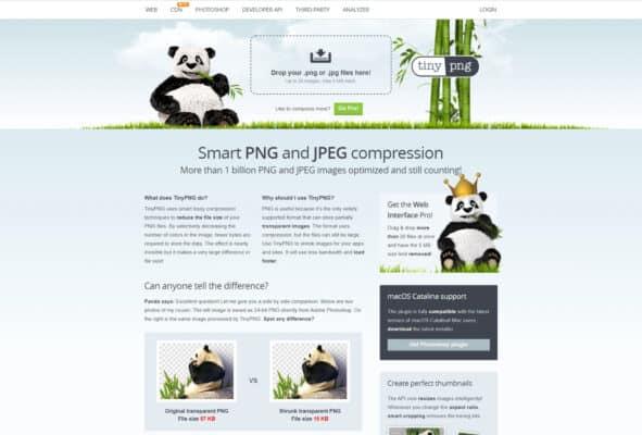 Améliorer la compression sans perte de qualitée visuel sur TinyPNG
